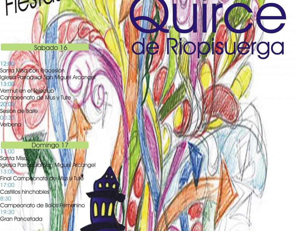 FIESTAS DE SAN QUIRICO Y SANTA JULITA, en San Quirce de Riopisuerga