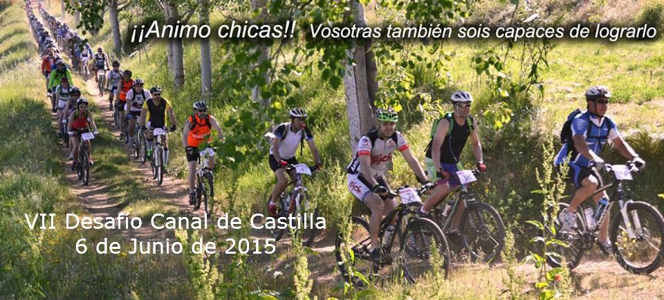 VII Desafío Canal de Castilla, 6 de junio de 2015