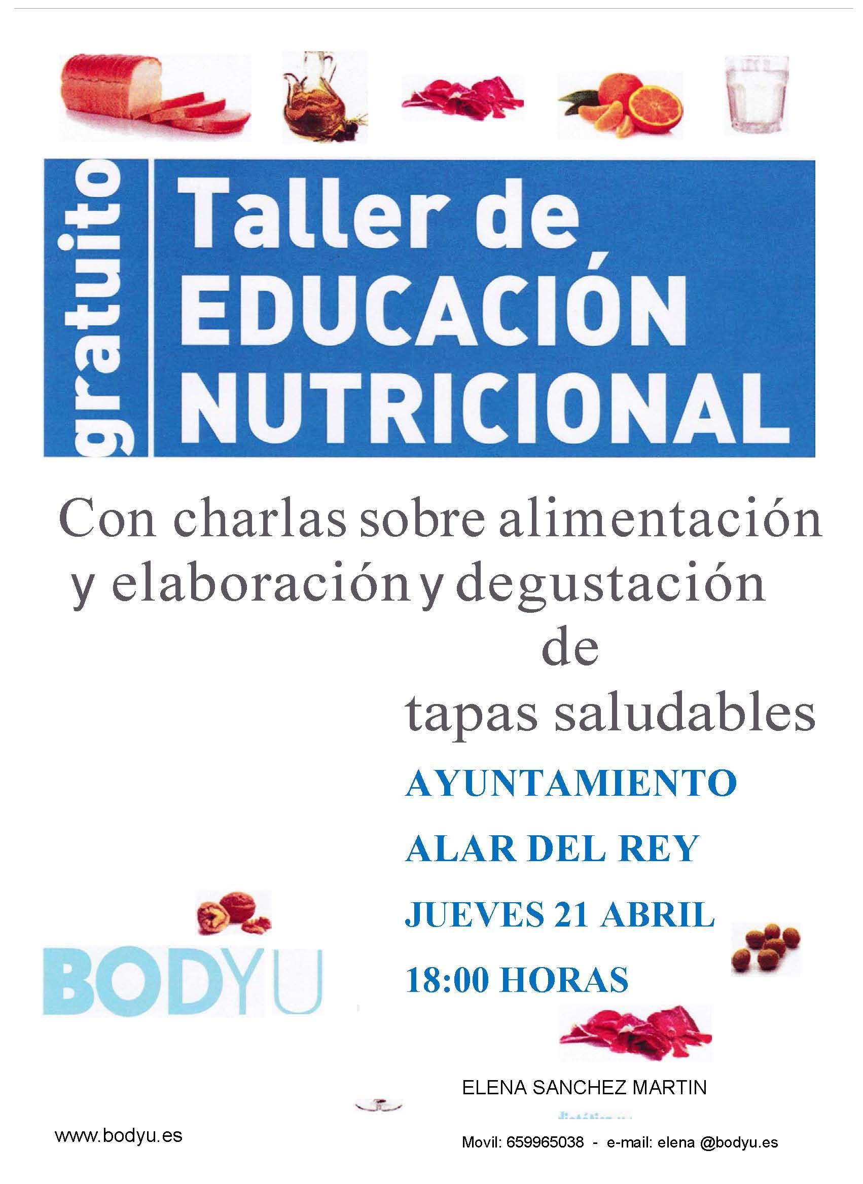 TALLER DE EDUCACIÓN NUTRICIONAL