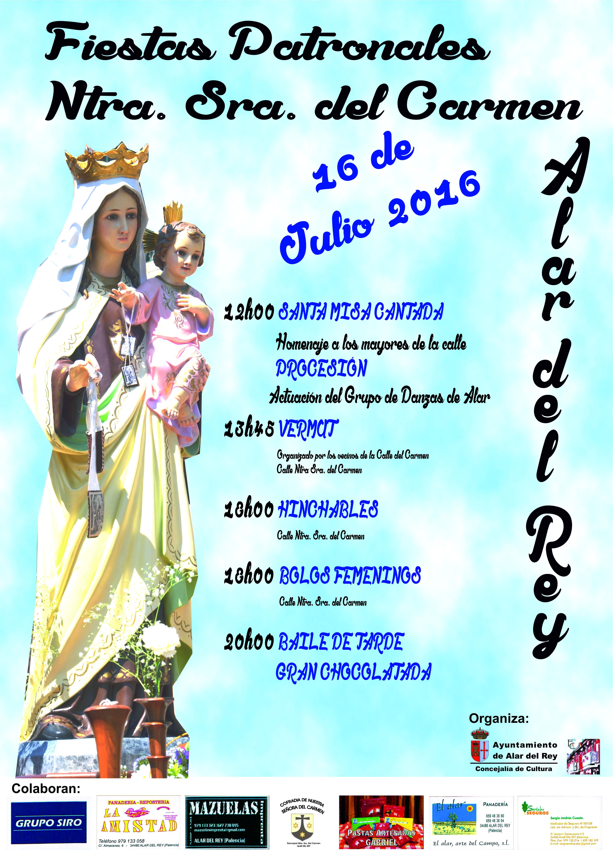 FIESTAS DE NTRA. SRA. DEL CARMEN 2016