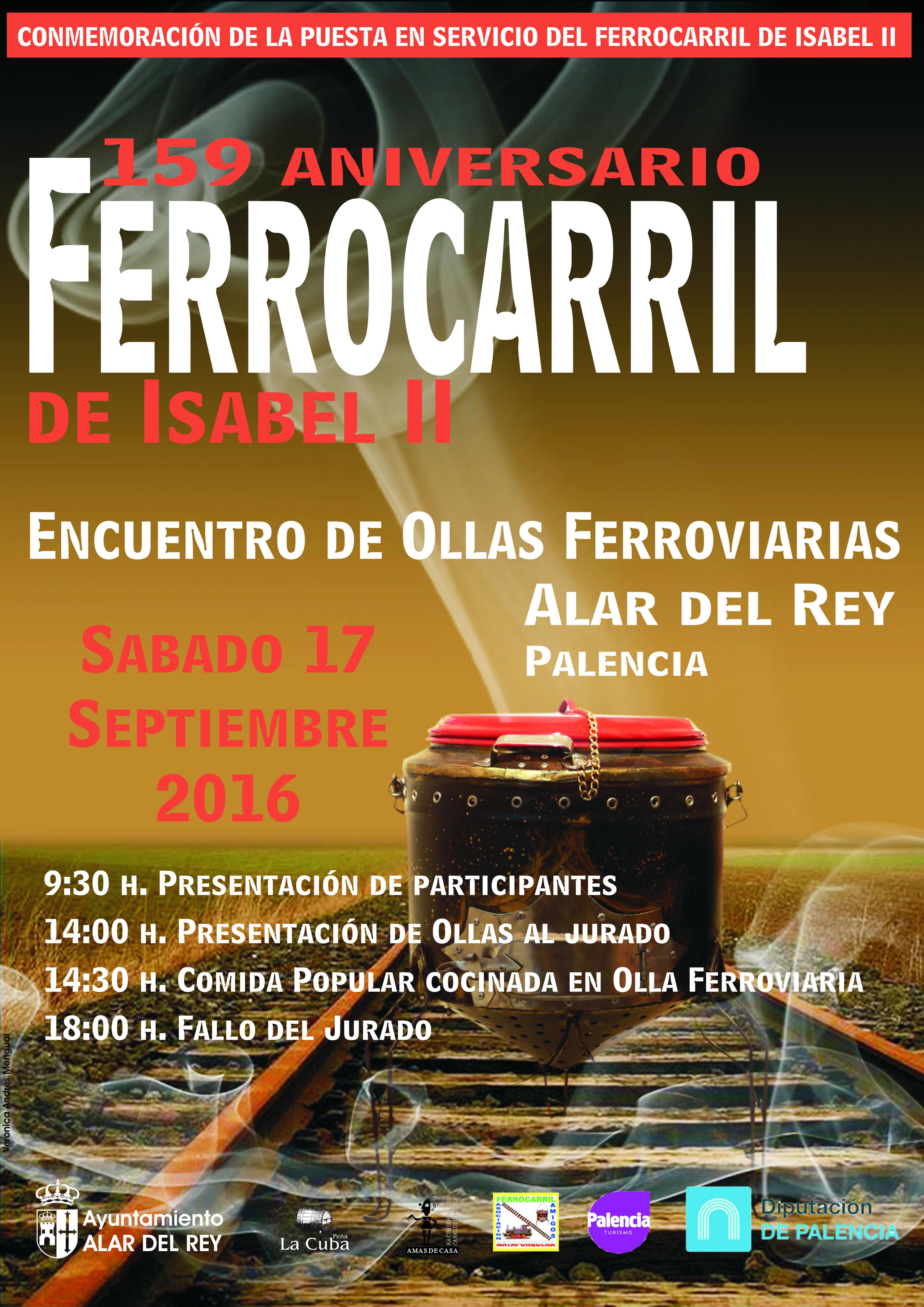 159 ANIVERSARIO DEL FERROCARRIL, ENCUENTRO DE OLLAS FERROVIARIAS 2016