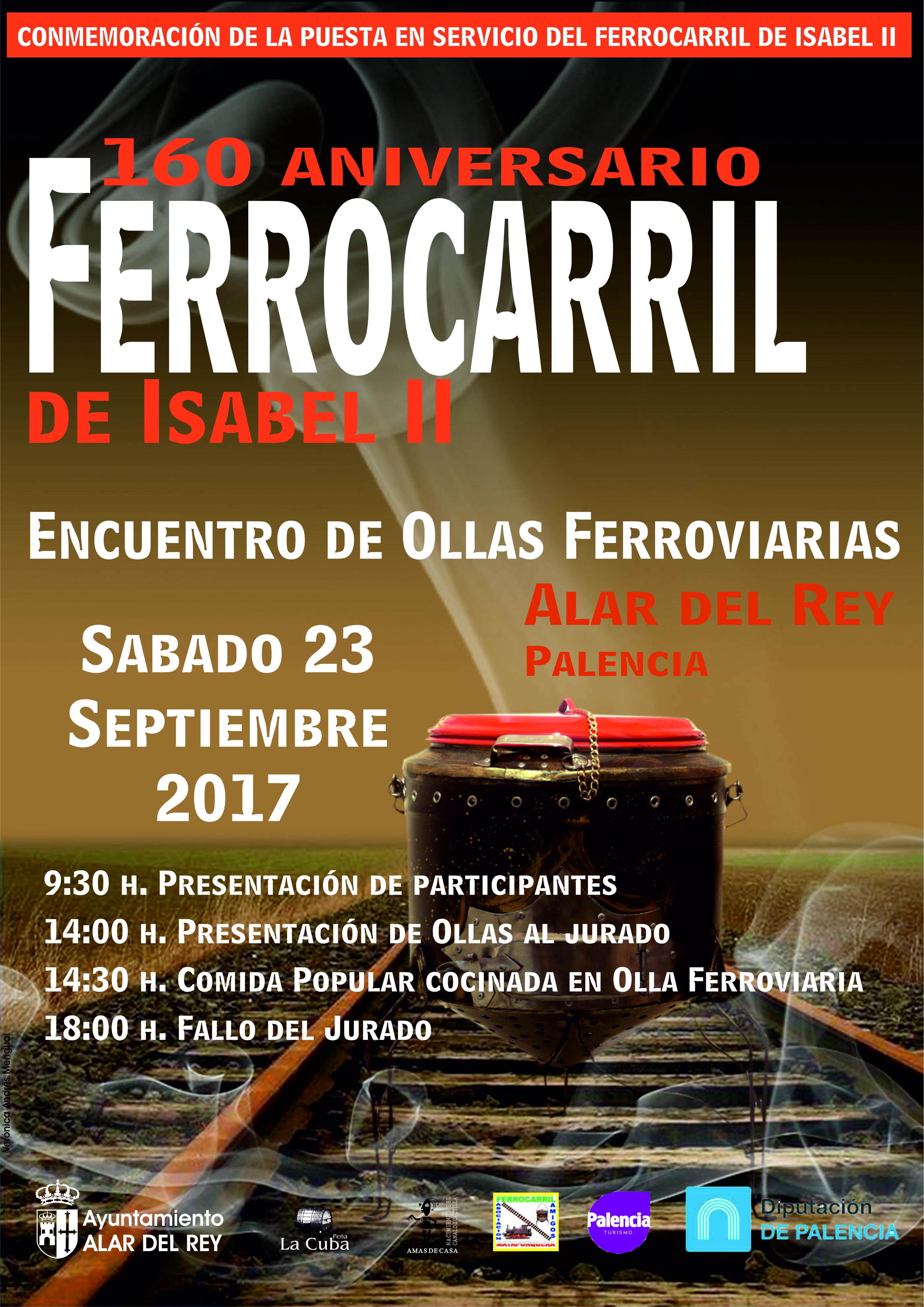 Feria 160 Aniversario FERROCARRIL Isabel II, 2017
