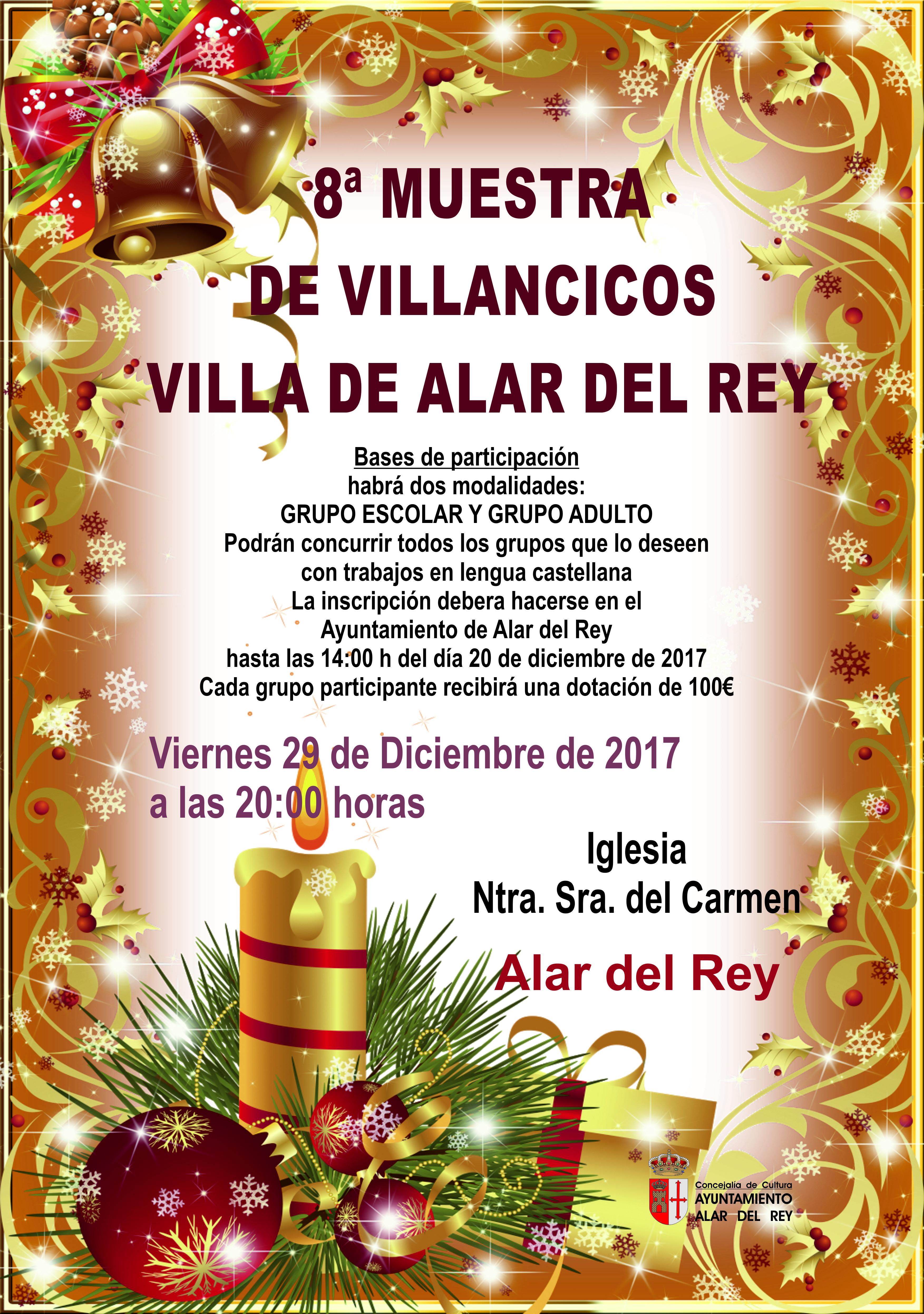 8ª Muestra de Villancicos Villa de Alar del Rey