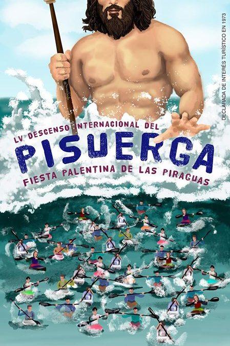 Descenso Internacional del Pisuerga. Fiesta Palentina de las Piraguas.