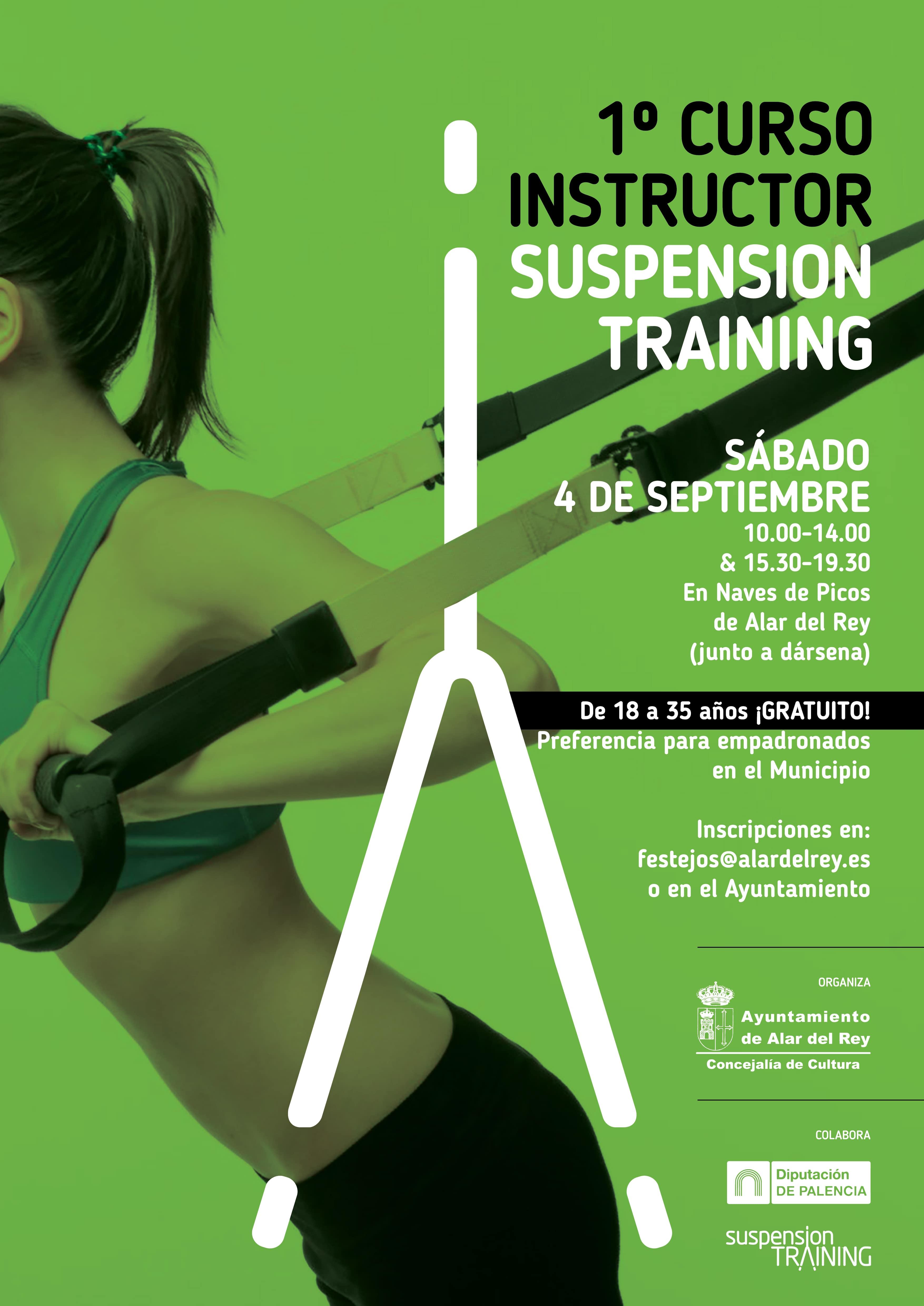 Curso de Instructor de Entrenamiento en Suspensión.